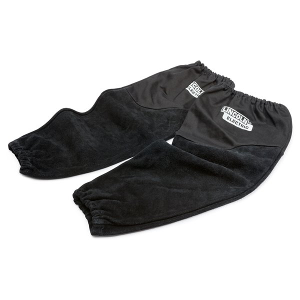 Lincoln Electric All Leather Welding Sleeves - Black