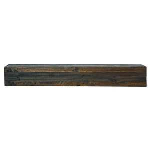 Elements Capri Rustic Mantel Shelf - Brown - 45-in