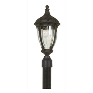 Artcraft Lighting Anapolis AC8573OB Outdoor Post Light - 9-in x 22-in - Oil Rubbed Bronze