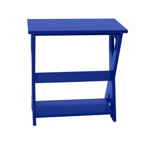 My Custom Sports Chair Outdoor End Table - Blue