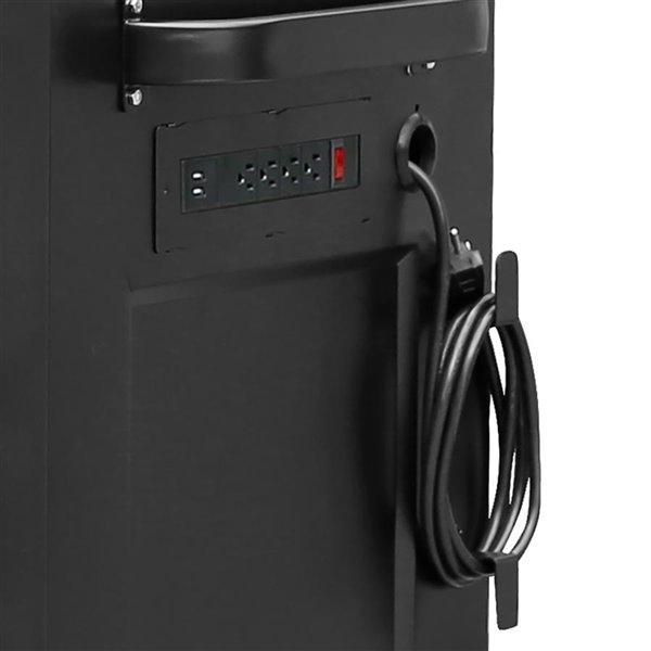 Coffre à outils Montezuma pour garage, 16 tiroirs, 4 prises alimentation et 2 USB, 72 po  x 30 po