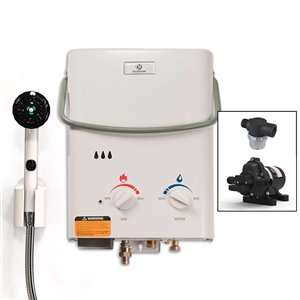 Eccotemp L5 Portable Tankless Water Heater w/ Eccoflo Pump
