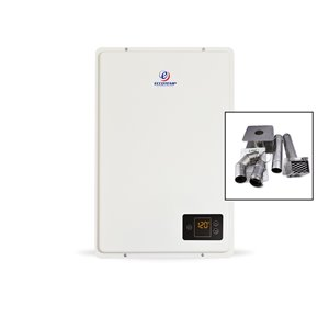 Eccotemp 20HI Indoor LP Tankless Water Heater - w/ 3-in Horizontal Vent Kit