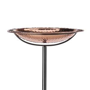 Good Directions Freestanding Birdbath - Pure Copper