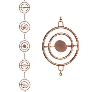 Good Directions Stellar Rain Chain - 8.5-ft - Pure Copper