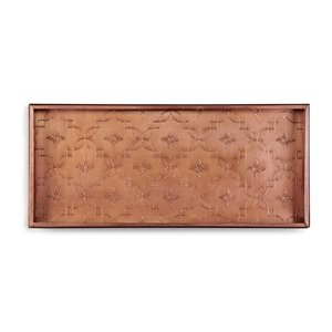 Good Directions Lattice Boot Tray - 13-in x 30-in x 2-in - Copper