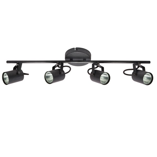 Beldi Lorino Collection 4-Light Track Lighting Black - 5.1-in x 50-in