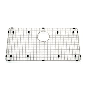 Kindred Stainless Steel Bottom Grid for Kitchen Sink - 27.25-in x 14.25-in x 1-in