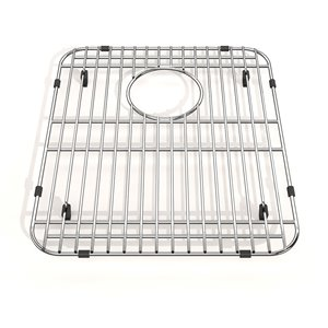 Kindred Stainless Steel Bottom Grid for Kitchen Sink - 13-in x 15-in x 1-in