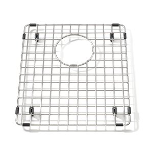 Kindred Stainless Steel Bottom Grid for Kitchen Sink - 11.88-in x 13.63-in x 1-in