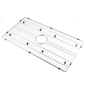 ALFI brand ABGR33S Solid Stainless Steel Kitchen Sink Grid for ABF3318S Sink