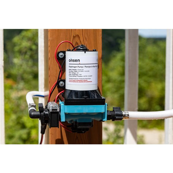 Onsen 5L Portable Tankless Water Heater with Onsen 3.0 Pump