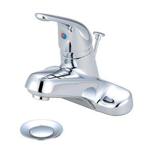 Olympia Faucet Elite 1-Handle Bathroom Faucet - Polished Chrome