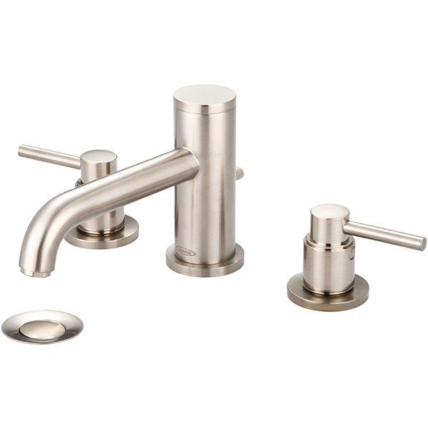 Pioneer Industries Motegi Two-Handle Widespread Bathroom Faucet - Brushed Nickel