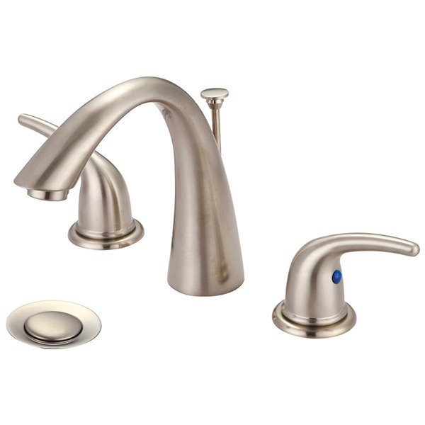 Olympia Faucet Accent 2-Handle  Widespread Bathroom Faucet - Brushed Nickel