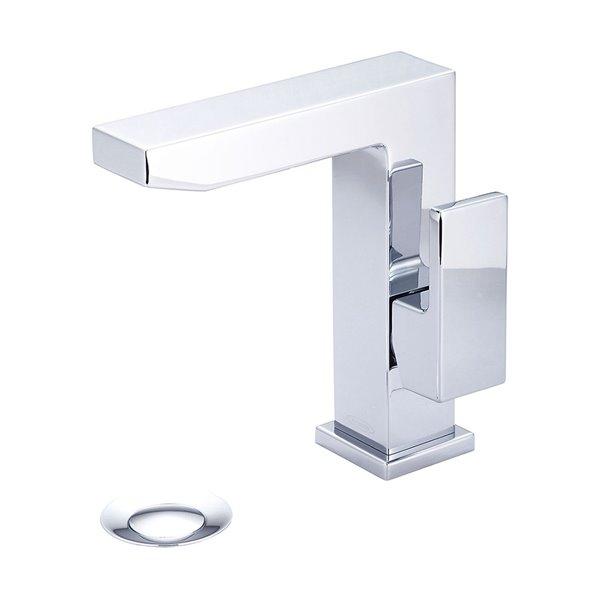Pioneer Industries MOD Rectangular Side Lever Handle Bathroom Faucet - Polished Chrome