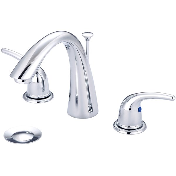 Olympia Faucet Accent 2-Handle  Widespread Lavatory Faucet - Polished Chrome