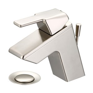Olympia Faucet i3 Single-Handle Bathroom Faucet - Brushed Nickel