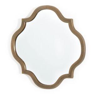 Gild Design House Eliza Metal Mirror - Antique Gold - 14-in x 14-in