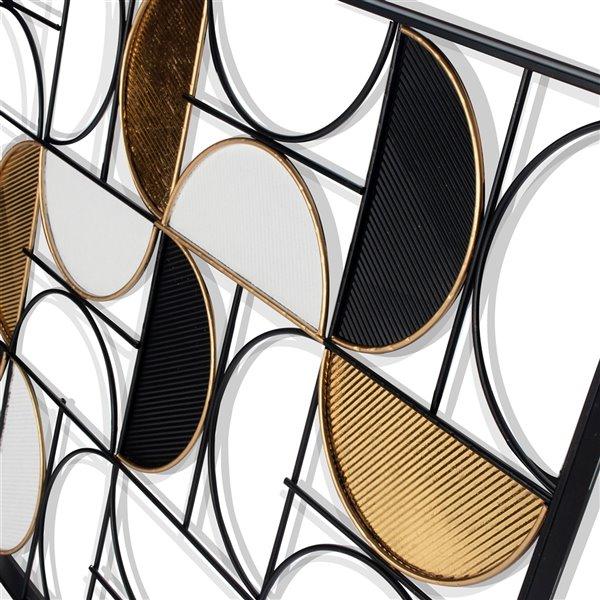 Gild Design House Danilo Metal Wall Decor - 40-in x 1-in x 30-in