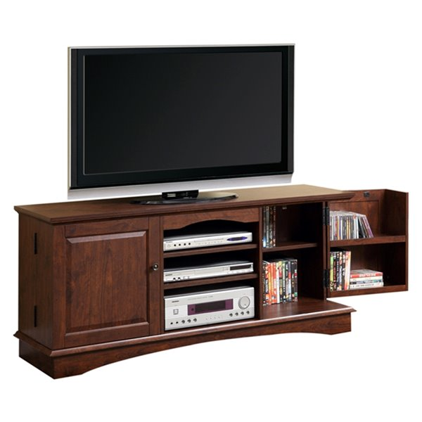 Walker Edison Casual TV Cabinet - 57-in x 24-in - Brown