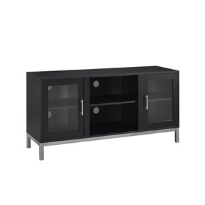 Walker Edison Modern TV Cabinet - 52-in x 26-in - Black