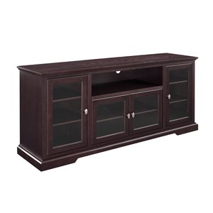 Walker Edison Casual TV Cabinet - 70-in x 30-in - Espresso
