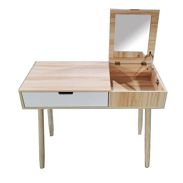 Table avec rabat Leo JR Home Collection JR Home Collection, 35 po, 2 tons