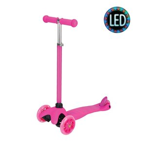 Rugged Racers Kids Scooter - Pink