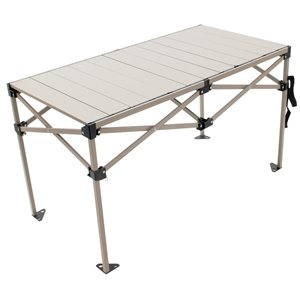 RIO Gear Table Étirable en Aluminum 48 x 25 pouces