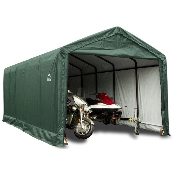 ShelterTube 12 x 30 ft Garage - Green - STD
