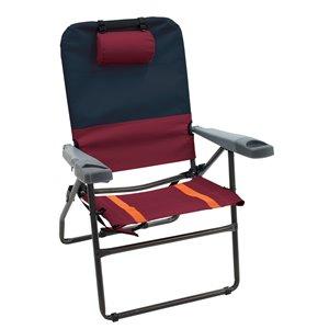 RIO Gear Alu 4-Positions 17 pouces Chaise, charbon