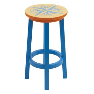 Tabouret de bar Margaritaville - Nautical Compass
