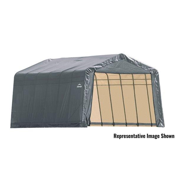 ShelterCoat 12 x 28 ft Garage Peak Gray STD