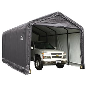 ShelterTube 12 x 20 ft Garage - Gray - STD