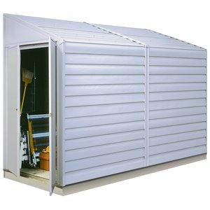 Abri rangement acier Yardsaver avec toit monopente