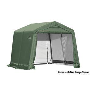 Garage pignon ShelterCoat 10 x 8 pi, Vert standard