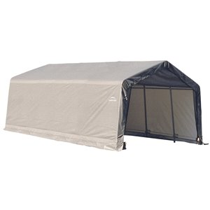 ShelterCoat 12 x 20 ft Garage Peak Gray