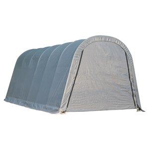 Rond Garage ShelterCoat 13 x 20 pi, Gris standard