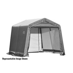 ShelterCoat 10 x 8 ft Garage Peak Gray STD