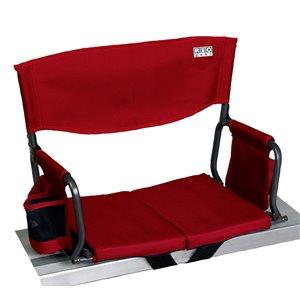RIO Gear Bleacher Boss Compact Stadium Seat - Red