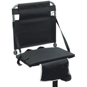 RIO Gear Bleacher Boss Companion Stadium Seat - BK