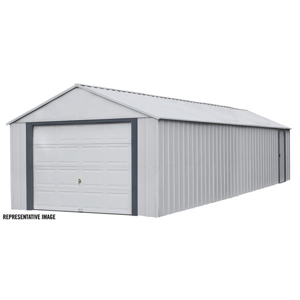 Garage préfabriqué de Arrow Murryhill, 14 pi x 31pi, acier