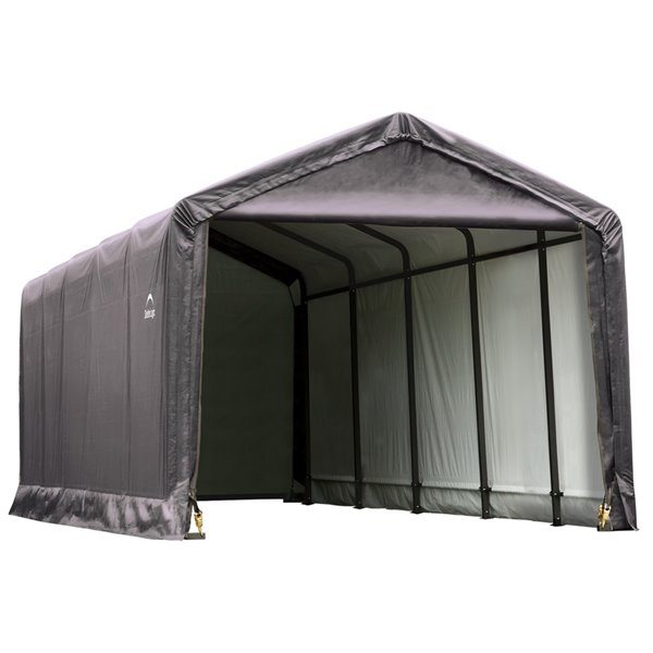 ShelterTube 12 x 25 ft Garage - Gray - STD