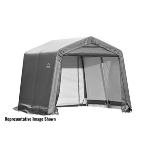 ShelterCoat 10 x 16 ft Garage Peak Gray STD