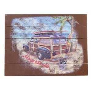 Margaritaville Wall Art - Surf Truck