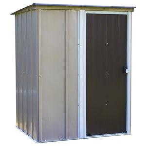 Abri stockage Brentwood 5x4 pieds, toit monopente