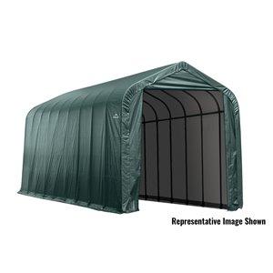 ShelterCoat 15 x 28 ft Garage Peak Green STD