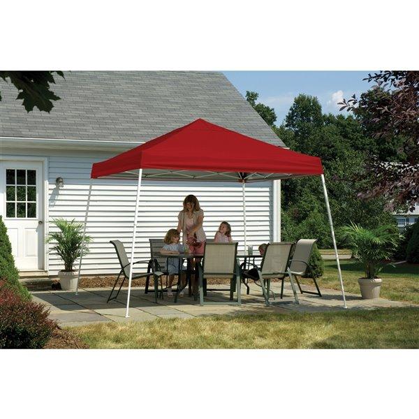 Pop-Up Canopy HD - Slant Leg 12 x 12 ft Red