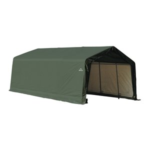 ShelterCoat 13 x 20 ft Garage Peak Green STD